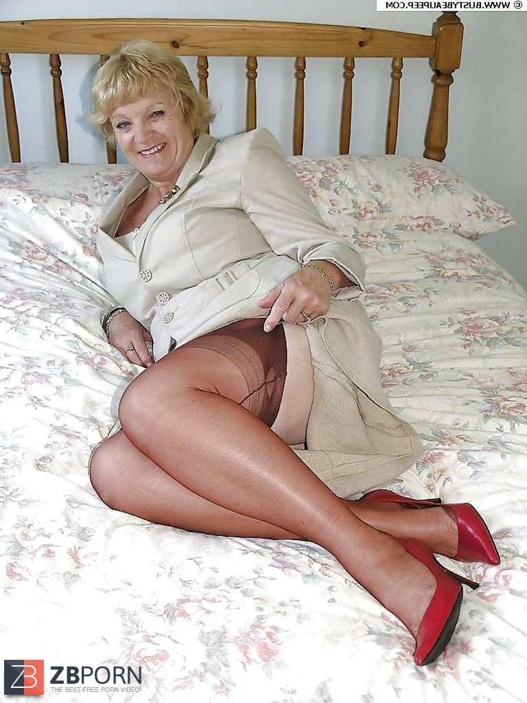 heel mature woman High