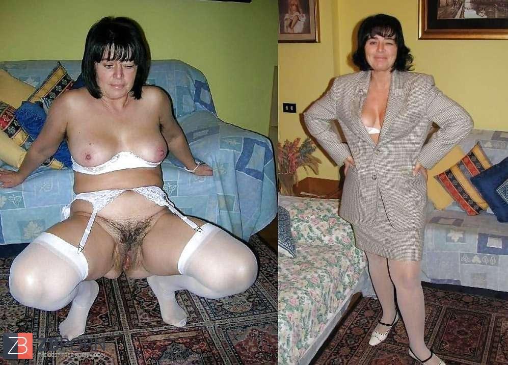 Bilder nackt und angezogen