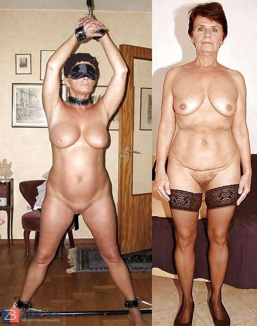 nude amateur granny bondage