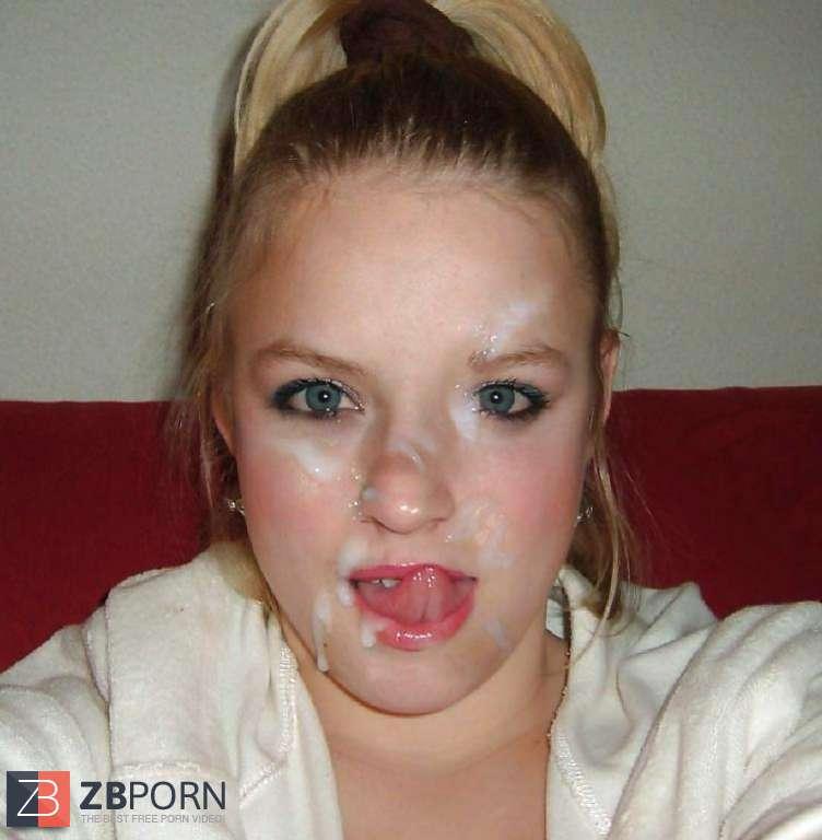 Sperma Ins Gesicht Von Lil Laura