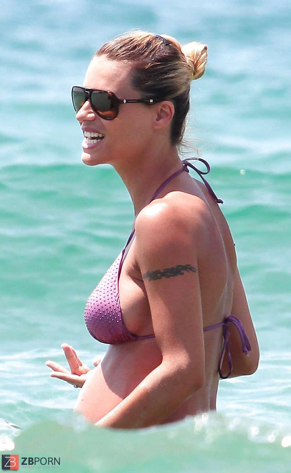 Michelle Hunziker Brüste