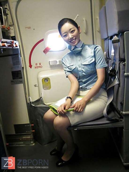 Korean Air Hostess Opening Up Gash  Zb Porn-1176