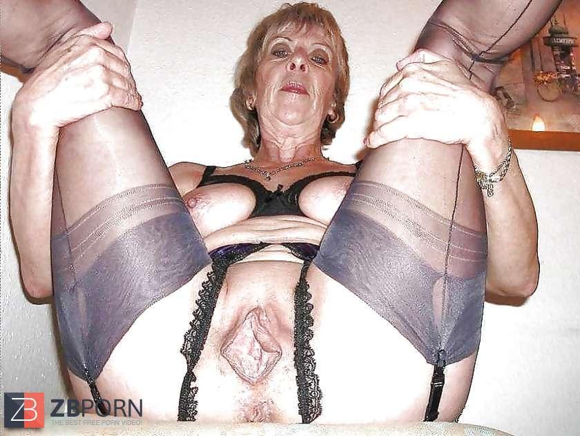 Schrumpel Oma beim Blowjob