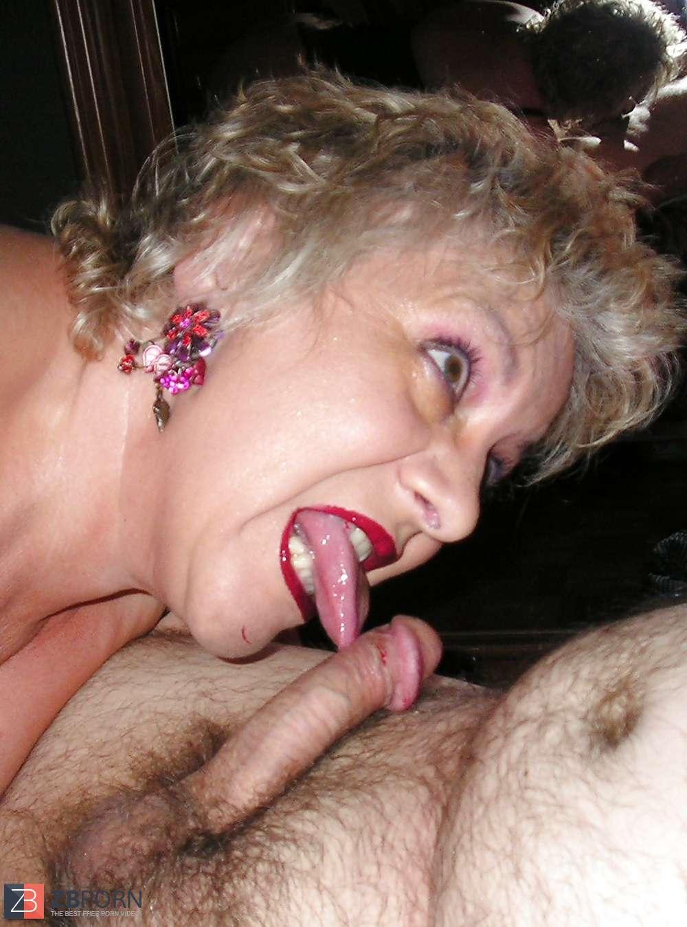 porn Grandma deepthroat