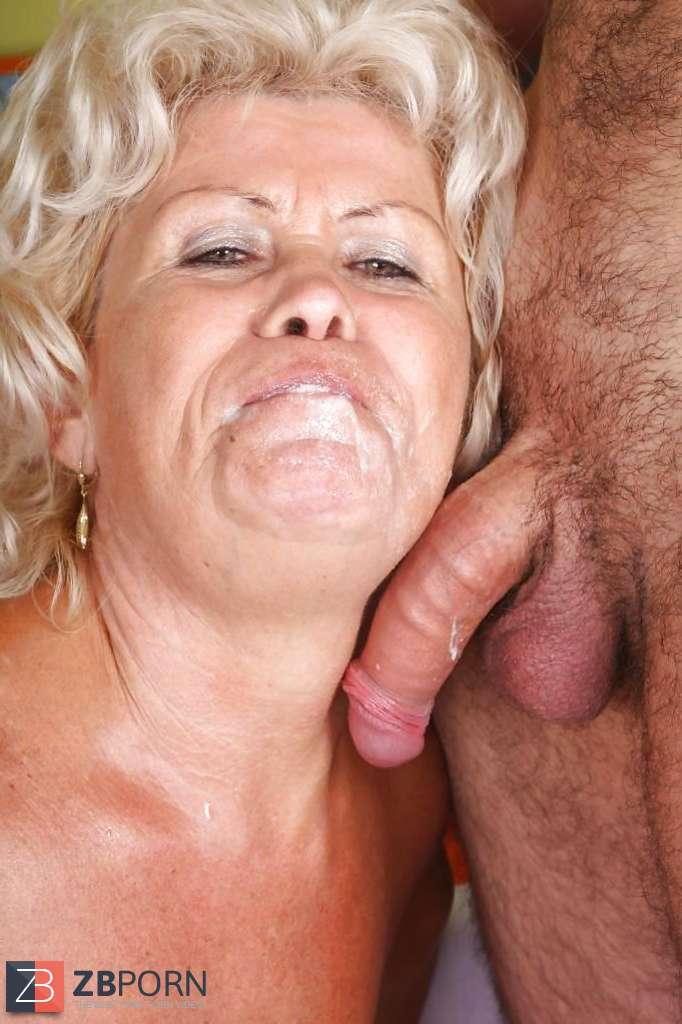Oma Schlampe und Freundin beim Schwanz Genuss