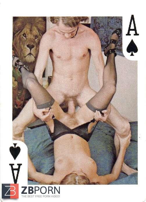 Nude women with nude men