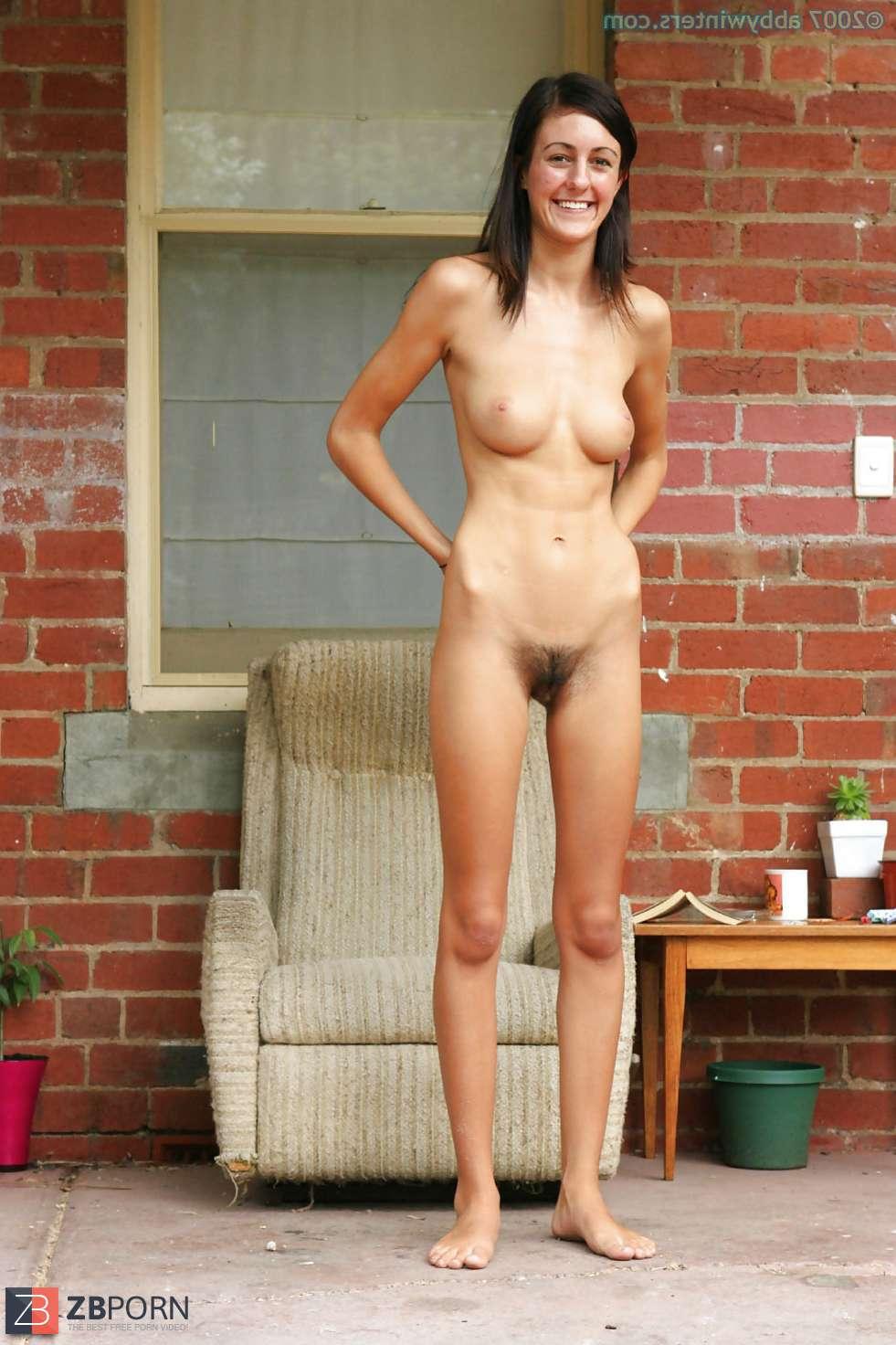 Standing Nude Girl Punishment