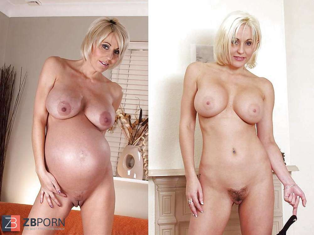 Before And After - Pregnant  Zb Porn