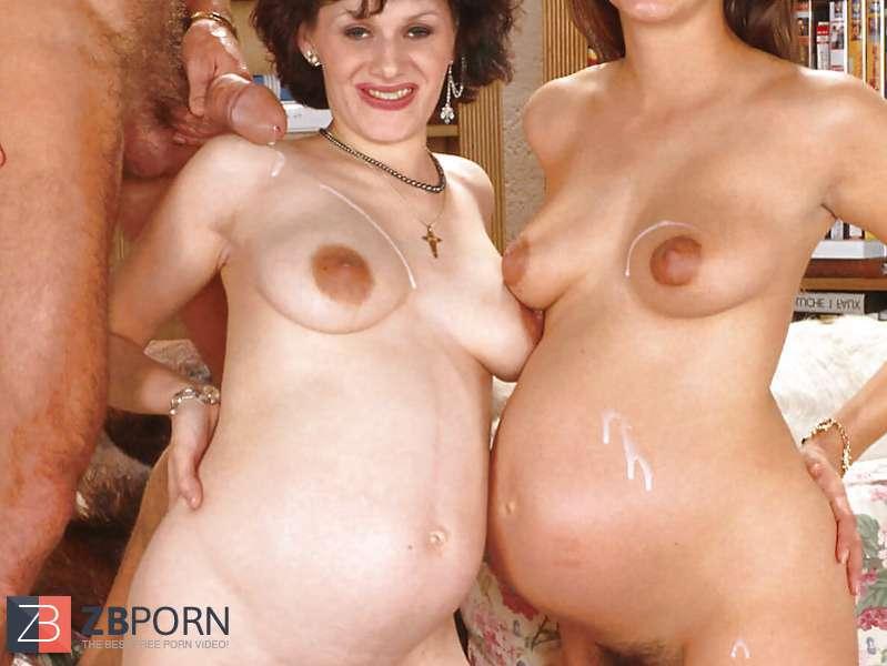 Big pregnant orgy