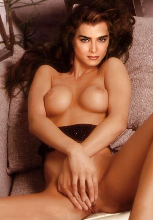 Brooke shields naked