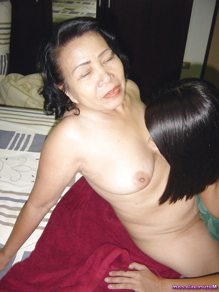 Granny asian fuck