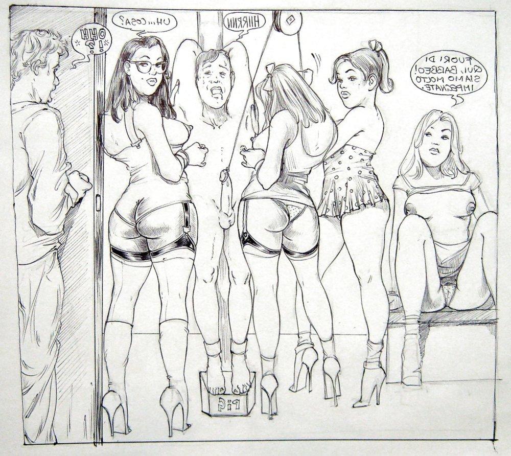 free Female domination art