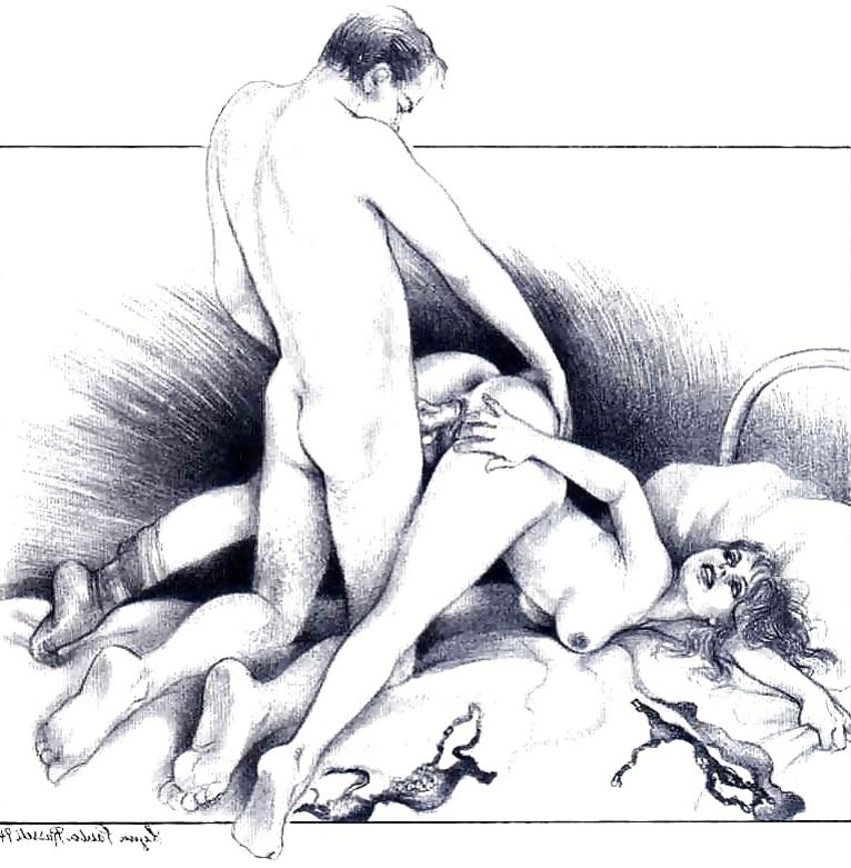 Modern Pornographic Art Sketches