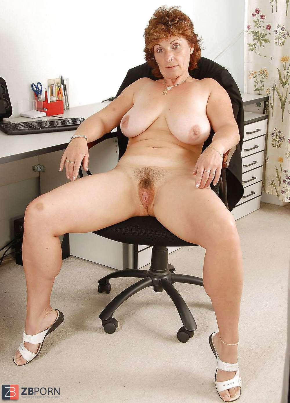 Sexy Naked Office Women