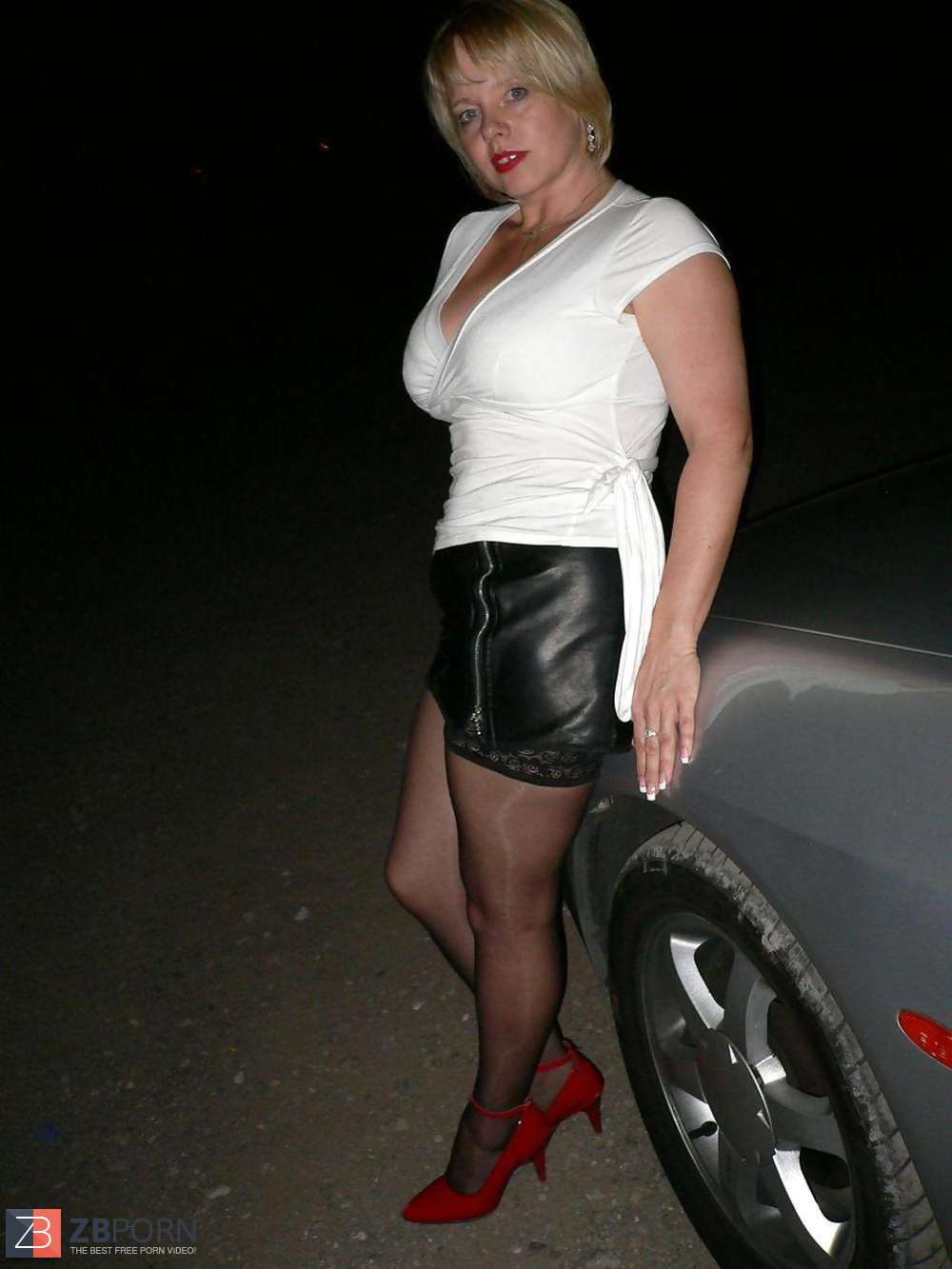 Big-Boobed Wifey Dogging  Zb Porn-6113