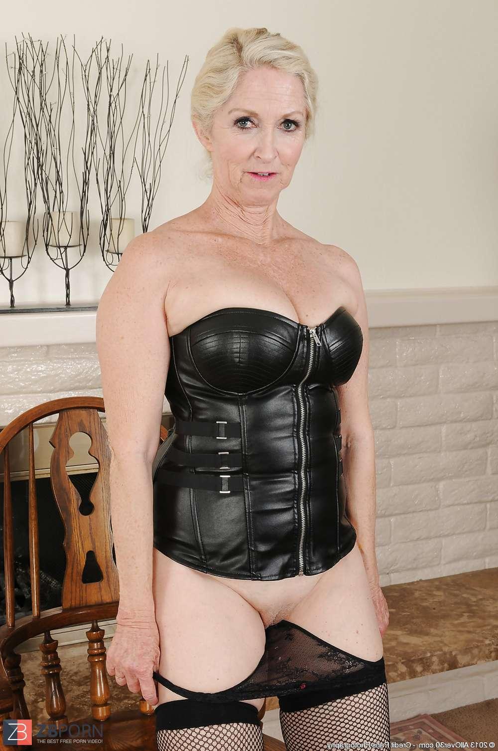 Warm Granny Leather Gimp  Zb Porn-9638