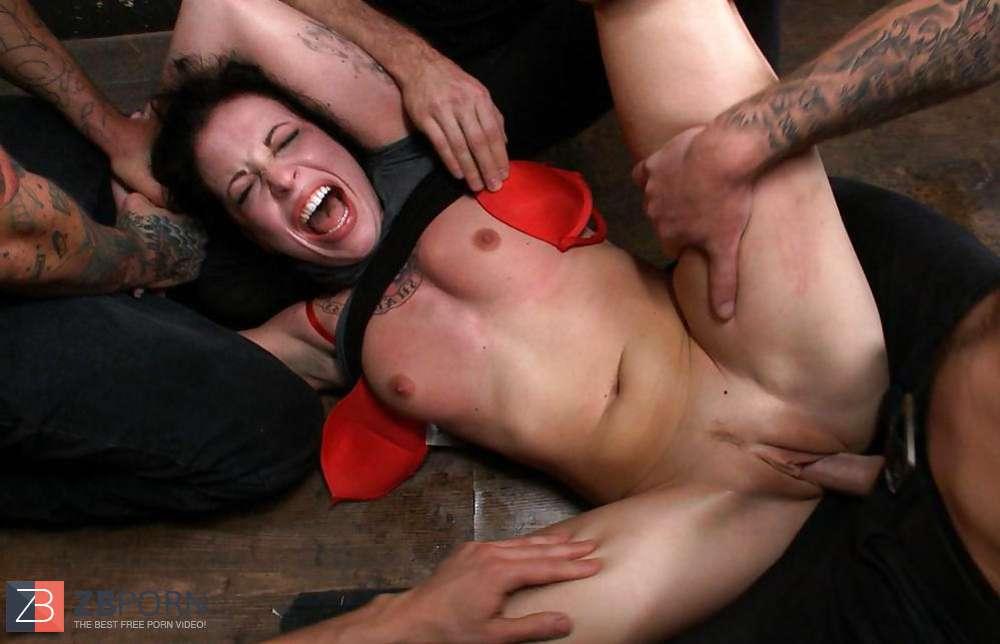 Violent Bondage  Discipline Dual Invasion Group Sex Aria -5893